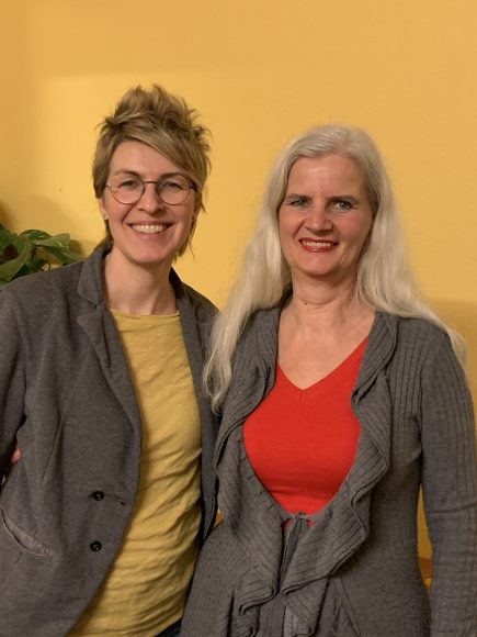Falkensee: Ullaa Dieker übergibt die Koordination des B84 an Tanja Marotzke