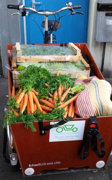 Corona-Hilfe: Spandauer Lastenräder fahren für den guten Zweck