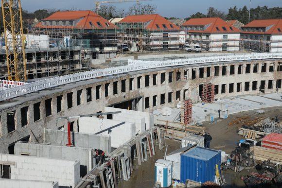 Wie ist der Stand? Im Olympischen Dorf in Elstal entstehen neue Wohnungen!