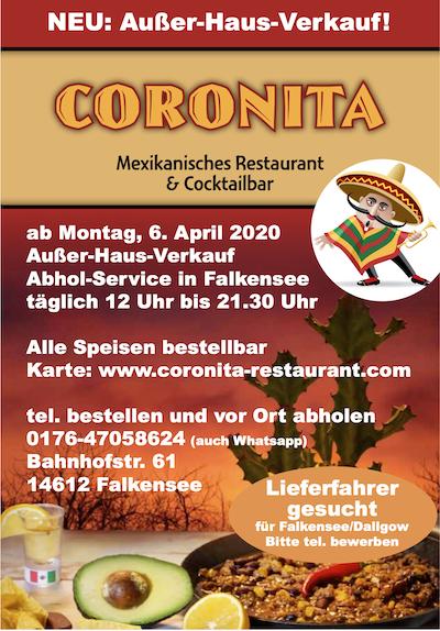 Besuchen Sie jetzt https://www.coronita-restaurant.com