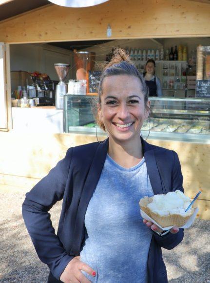 Baklava als Eis: Hausgemachte Eiscreme direkt an der Alt-Kladower Fähre!