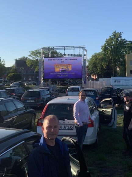 Erfolgreiche Premiere für Nauens erstes Autokino