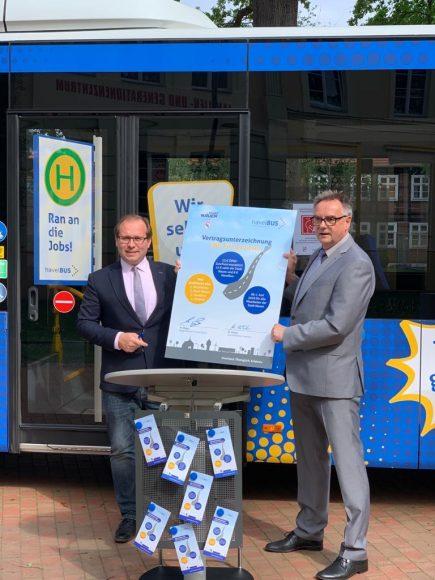 Stadtverwaltung Nauen unterstützt ihre Mitarbeiter mit neuem Firmenticket