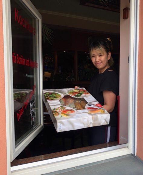 Lieferdienste in Corona-Zeiten: Goldfisch in Nauen