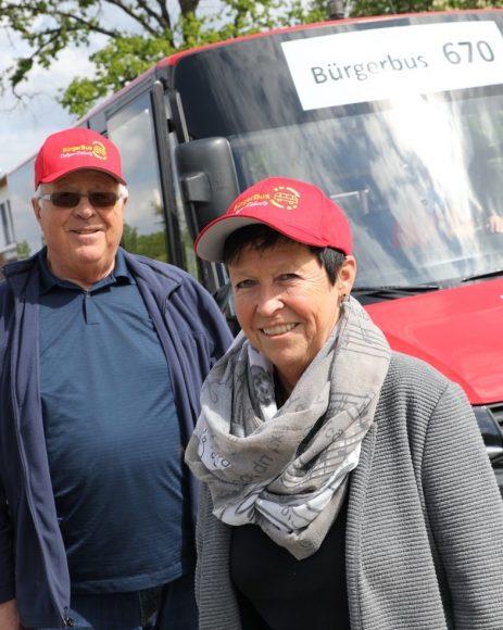 Corona-abgesichert: Der Bürgerbus dreht wieder seine Tour durch Dallgow-Döberitz!