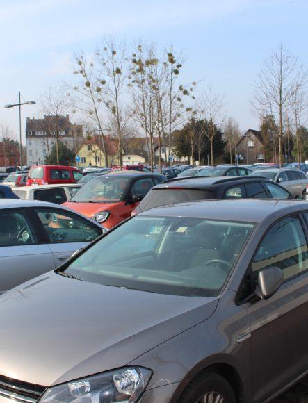 Falkensee: Solaranlagen für den P+R Parkplatz an der Seegefelder Straße?