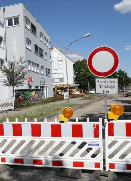 Falkensee: Auch die Bauarbeiten am 2. Kreisverkehr haben begonnen!