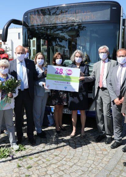 Erste PlusBus-Linie im Havelland schafft Verlässlichkeit!