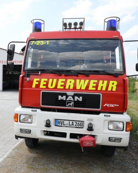 Feuer bekämpfen: Neues Gerätehaus für Freiwillige Feuerwehr von Seeburg!