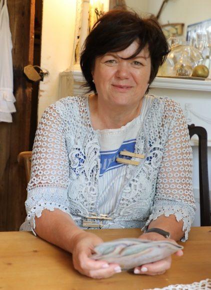Altes Waschhaus in Ribbeck: Marina Wesche serviert Birnentorte und schreibt Bücher!