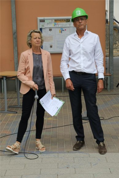 Richtfest: Der Da-Vinci-Campus in Nauen bekommt ein Kreativitätshaus mit Amphitheater!
