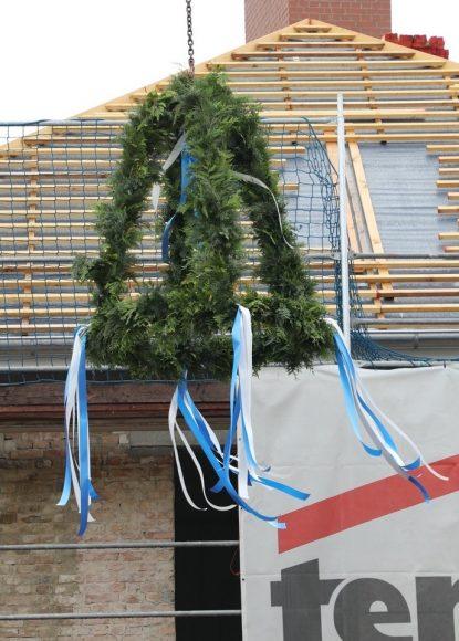 Olympisches Dorf in Elstal: Richtfest mit über 300 Gästen!