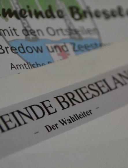 Neues aus der Gemeinde Brieselang – 2. Juli 2020