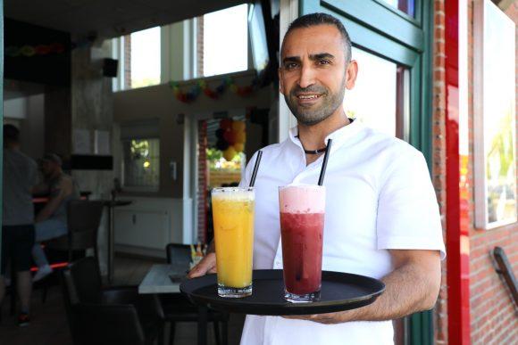 Im neuen Dall-Eck: Am Dallgower Bahnhof gibt es jetzt süffige Cocktails!