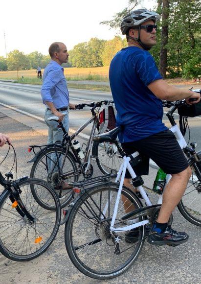Neue Radkonzepte: Radelnder Stammtisch zum Auftakt des Falkenseer Stadtradelns!