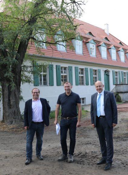 Junges Gutshaus: Michael Schob saniert das Gutshaus in Lietzow!