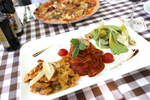 Trattoria Riposo: Pasta und Pizza im ruhigen Innenhof in der Spandauer Altstadt!
