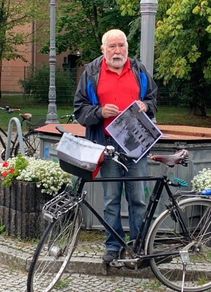 Stolperstein-Tour 2020: 3. Historische Radrundfahrt zu Erinnerungsorten!