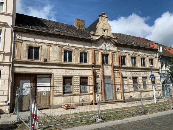 Nauen: Berliner Hof wird letztes Sanierungsprojekt von Michael Schob!