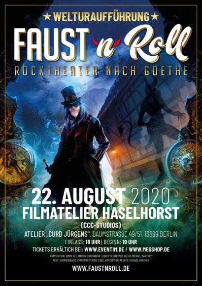 FAUST'n'Roll – Rocktheater nach Goethe: Welturaufführung in Spandau!