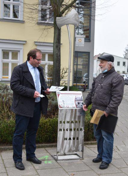 Nauen: Ausstellungseröffnung in der Feldstraße