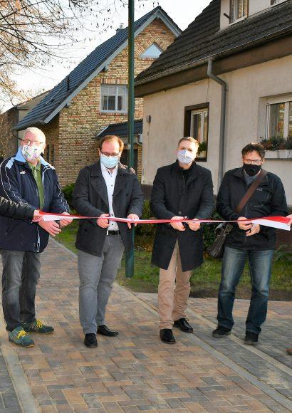 Nauen: Gehweg in der Alten Schulstraße ist jetzt fertig