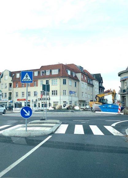 Immer im Kreis: Der Tunnel im  Falkenseer Zentrum ist wieder offen!
