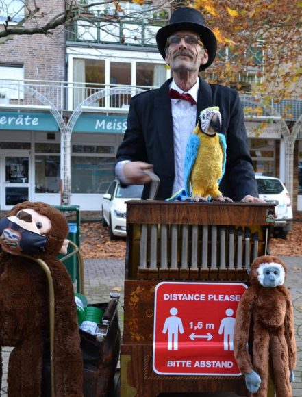 """Brieselang: """"Drehorgel on Tour"""": Aktion für krebskranke Kinder startet"""