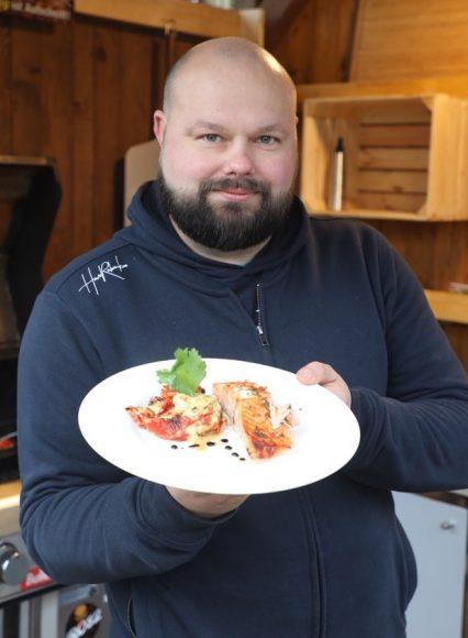 Grillen mit Klasse: Michael Damast aus Wustermark ist Food-Blogger und Instagram-Griller!