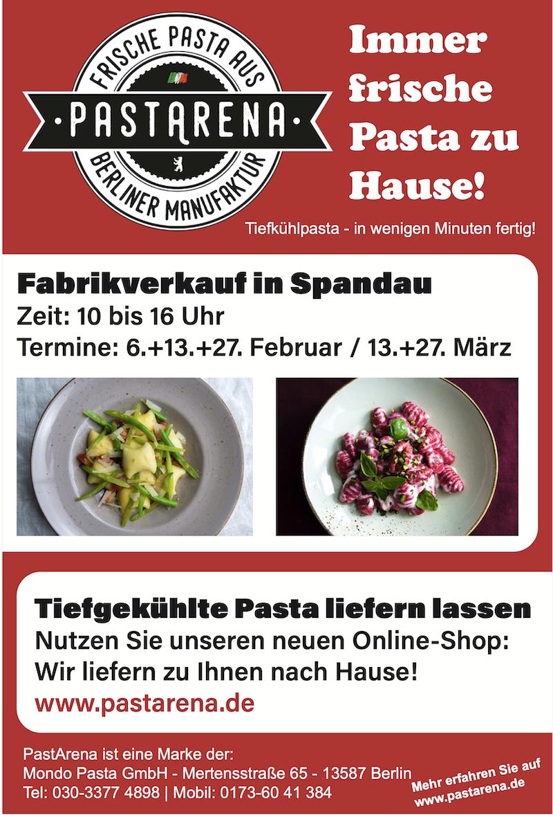 Besuchen Sie jetzt http://www.pastarena.de