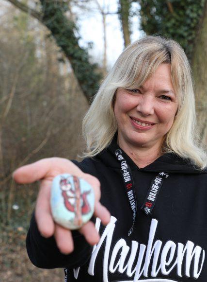 Falkensteine: Bunt bemalte Steine sind überall in Falkensee versteckt!