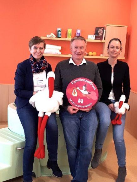 Rund um die Geburt: Familienzentrum in den Havelland  Kliniken kommt an!