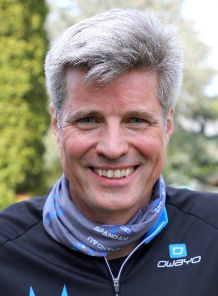 Thomas Greczmiel aus Falkensee bereitet sich auf den Ironman vor!