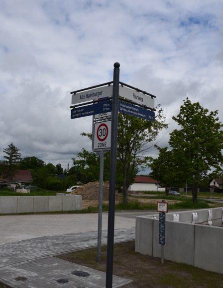 Ribbeck: Straßenbau ist abgeschlossen – Start frei für die Hausbauer