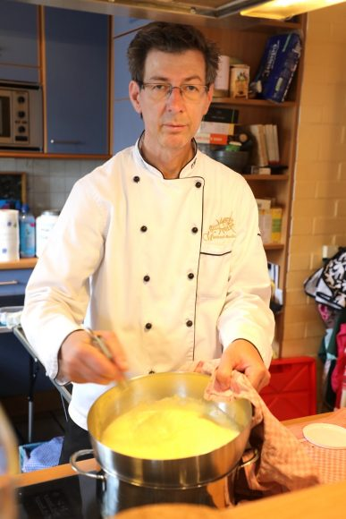 Ich koche für Sie: Dirk Raddatz aus Brieselang bringt das Restaurant zum Gast nach Hause!