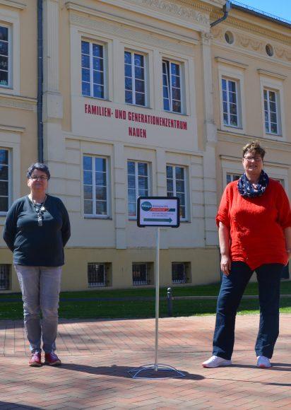 Wohnortnahe Pflege- und Sozialberatung: Außenstelle des Pflegestützpunktes Havelland seit fünf Jahren im FGZ Nauen