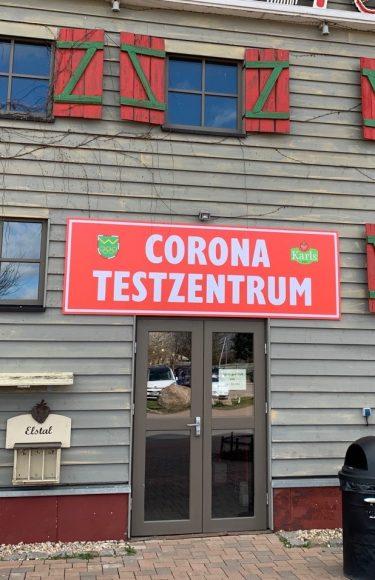 Karlchen testet: Corona-Testzentrum bei Karls auch am Wochenende offen!
