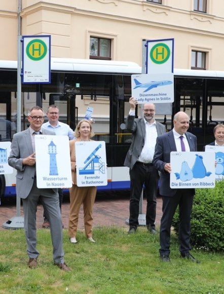 Neue Tourismus-Linie in Ribbeck vorgestellt: Mit Havelbus das West-Havelland  erkunden!