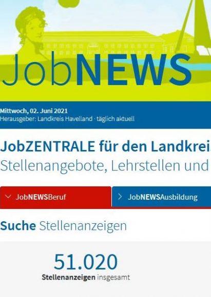 Jobzentrale Havelland bündelt Stellenangebote aus der Region: Neues Online-Portal für Arbeitssuchende