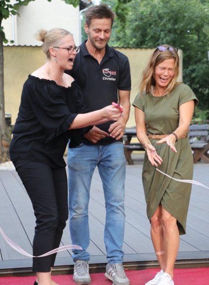 Tanzschule Allround in Dallgow-Döberitz: Familie Thamm tanzt ab sofort auch im Freien!