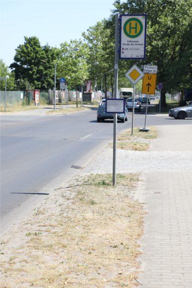 Nicht stolpern! 14 Bushaltestellen in Falkensee werden barrierefrei ausgebaut!