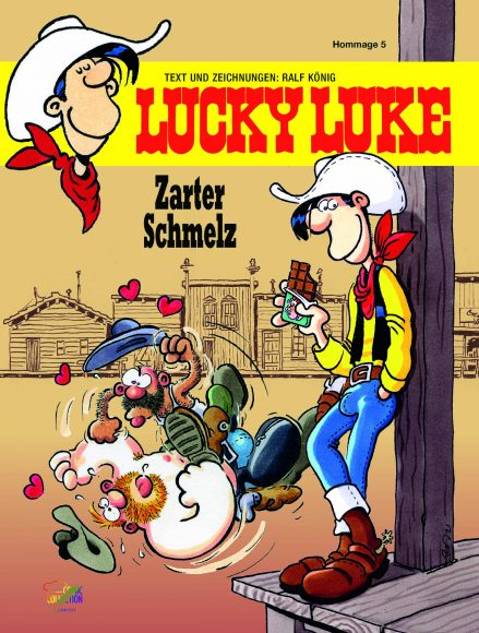 Unser Buchtipp: Lucky Luke – Zarter Schmelz