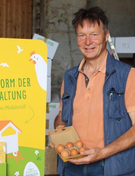 Mobile Bio-Eier: In Hoppenrade  entsteht eine  Bio-Ei-Packstation!