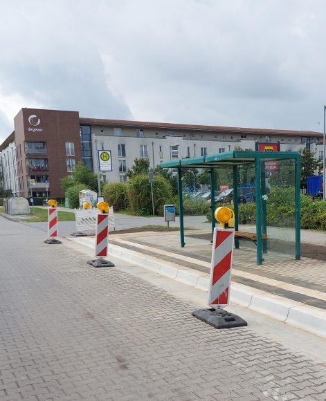Falkensee: Barrierefreier Ausbau von Bushaltestellen im Stadtgebiet geht voran