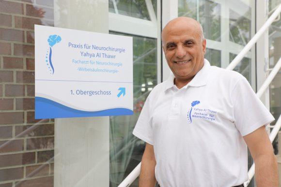 Reine Nervensache: Yahya Al Thawr hat in Falkensee eine Praxis für Neurochirurgie eröffnet!