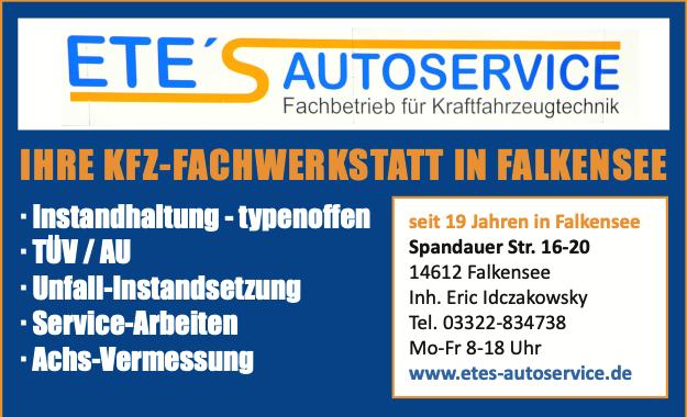Besuchen Sie jetzt https://www.etes-autoservice.de