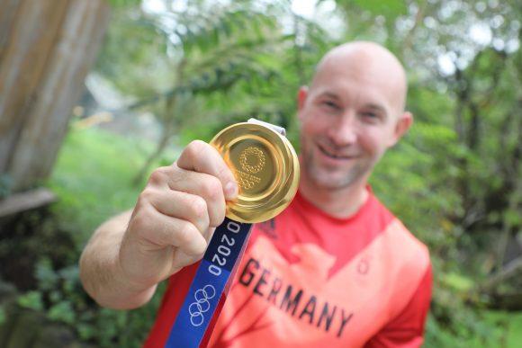 Interview: Ronald Rauhe aus Falkensee ist Olympiasieger im Vierer-Kajak!