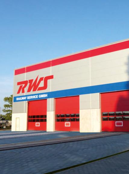 RWS Railway Service GmbH nimmt Service- und Wartungshalle in Wustermark/Elstal in Betrieb