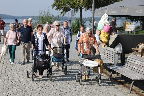 Tagesausflug mit dem Pflegeteam Stüsser an die Müritz!