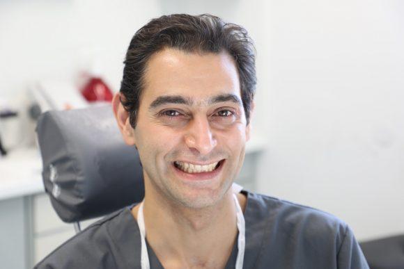 Nicht gebohrt: Ramiz Radwan verstärkt das Team von Zahnarzt Dr. Schürer!